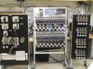 52 Axes of automated test equipment.