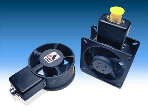 Small Tube Axial Fan : Small tubeaxial fan from ametek rotron