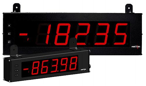 Red Lion Unveils Large Display Strain Gage (LDSG)