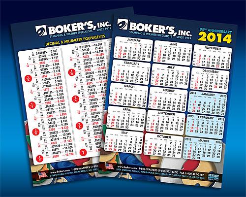 FREE 2015 Boker's Calendar..